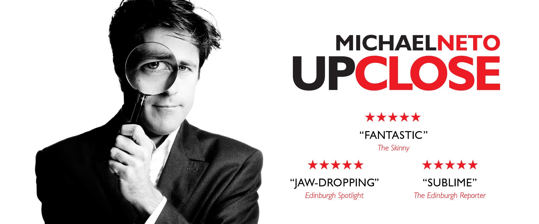 Glasgow Magician Michael Neto's Show - Upclose